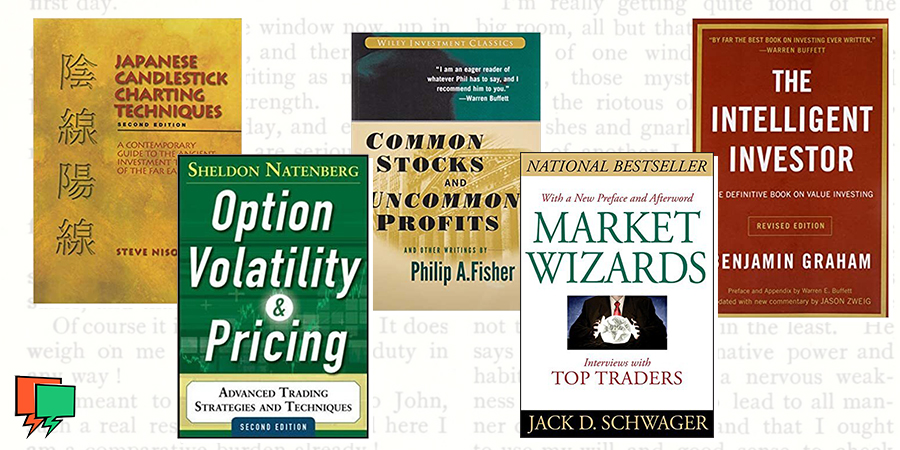 Top 5 Books For Traders