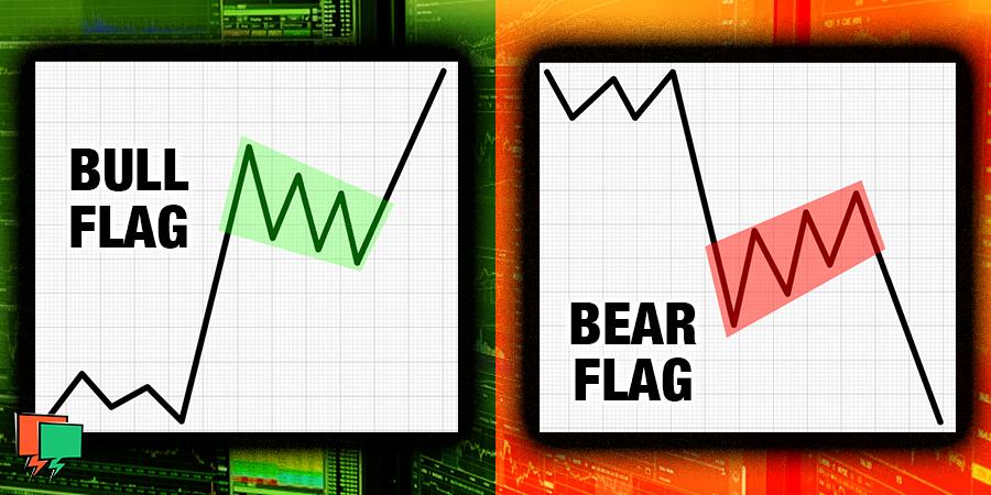 Bull Flag & Bear Flag Patterns